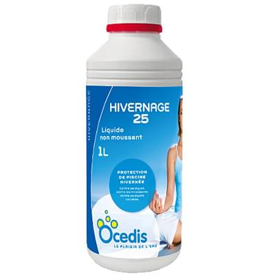 Hivernage liquide 1l chlore brome ph anti algues for Algues piscine ph