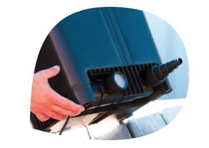 Kit filtration biona 16000 agriline bassin filtre for Filtre uv bassin