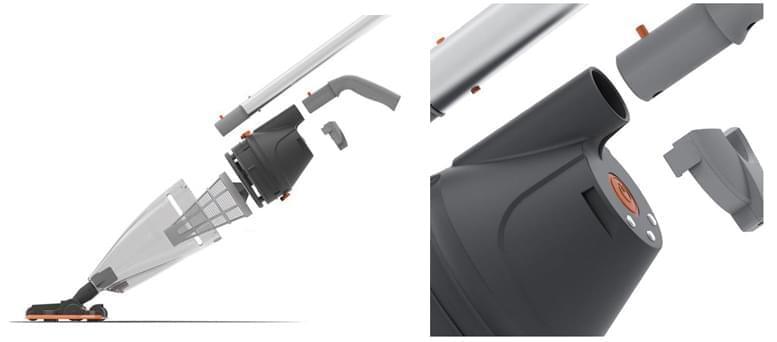 Aspirateur electrique vektro pro kokido balai aspirateur for Aspirateur piscine fonctionnement