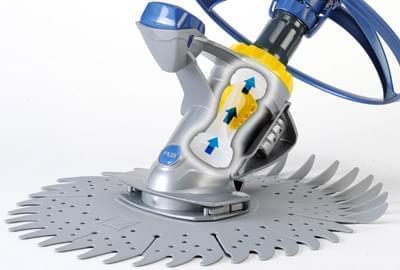 Robot aspirateur t3 zodiac nettoyeur hydraulique for Aspirateur piscine cyclone