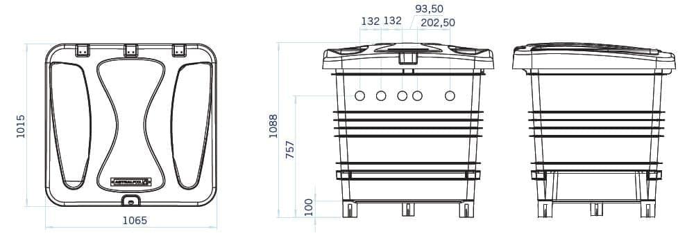 local technique enterr quip idealbloc 12m. Black Bedroom Furniture Sets. Home Design Ideas
