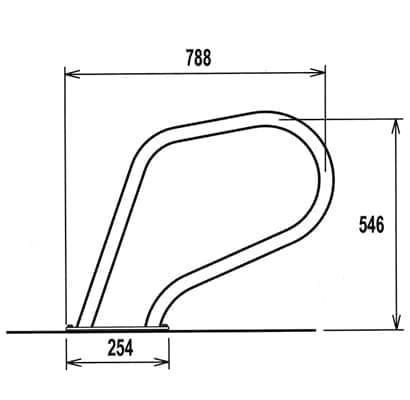 dimensions rampe de spa