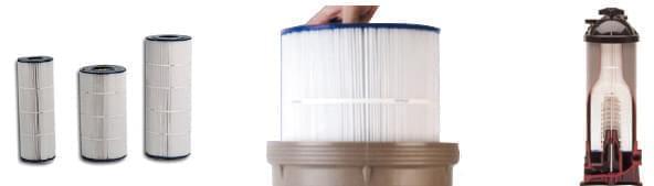 filtre a cartouche piscine
