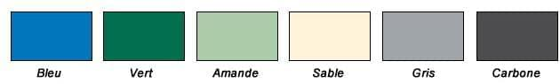 couleur bache a barres piscine