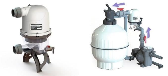 installation pre filtre hydrospin astral