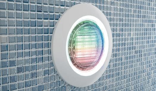 Ampoule led blanche diamond power pour piscine ampoules for Lampe pour piscine