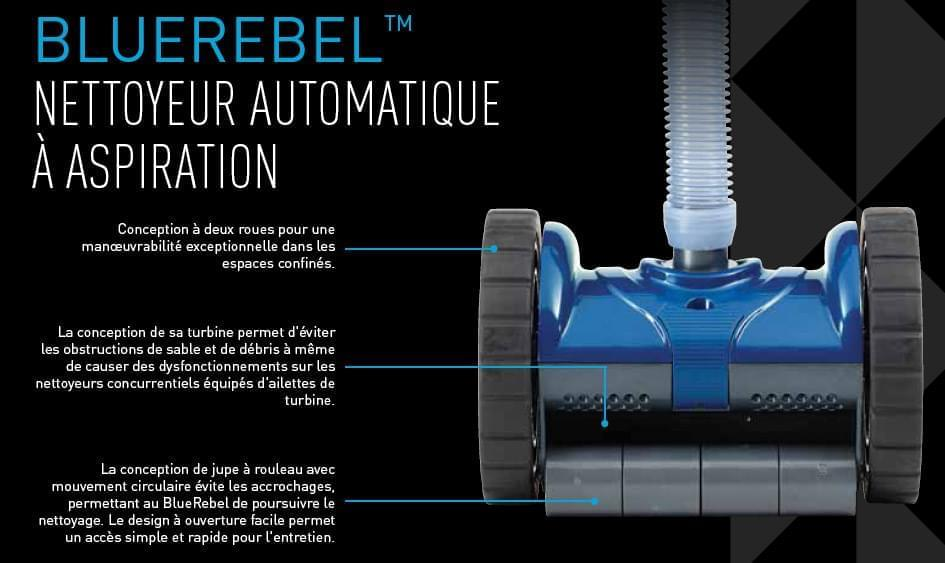 robot piscine blue rebel