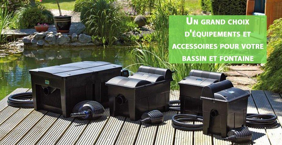 Des robots pour piscine et des accessoires pour bassin de jardin
