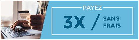 Payer en 3x sans frais