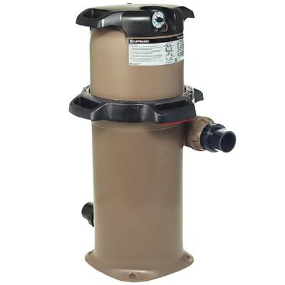 Filtre hayward swimclear mono cartouche c150se 25m3 h for Chauffage piscine 25m3