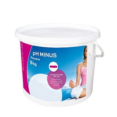 Ph minus poudre 5 kg chlore brome ph anti algues for Algues piscine ph