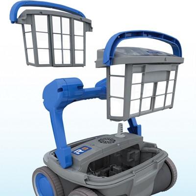 Robot piscine r5 astral robot lectrique fond parois ligne d 39 eau piscin ale - Robot piscine electrique fond et paroi ...