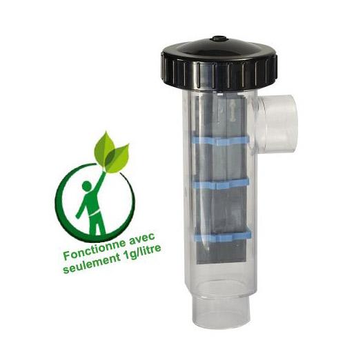 Electrolyseur de sel e salt 100 premium 1gr for Dosage sel piscine