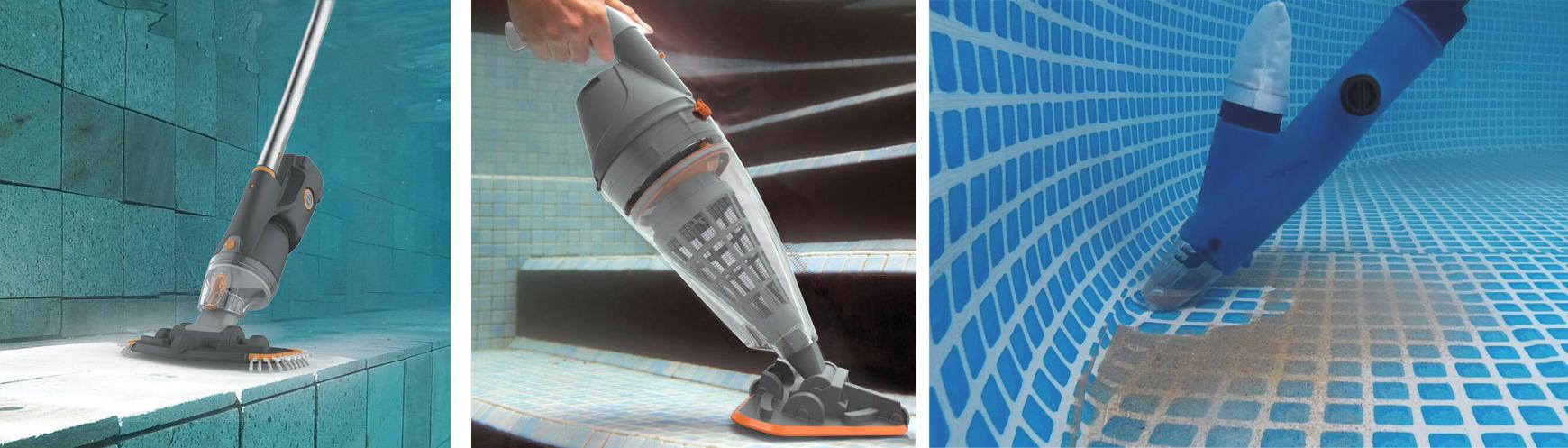 Balais aspirateur lectrique de piscine balai pour piscine piscineale - Aspirateur de piscine electrique ...