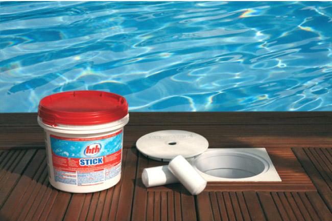 Qu 39 est ce que le stabilisant dans une piscine piscin ale for Chlore hth piscine